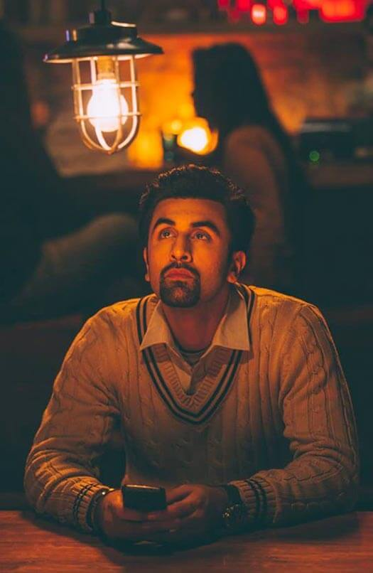 Ved Lost In His Thoughts In A Still From Tamasha