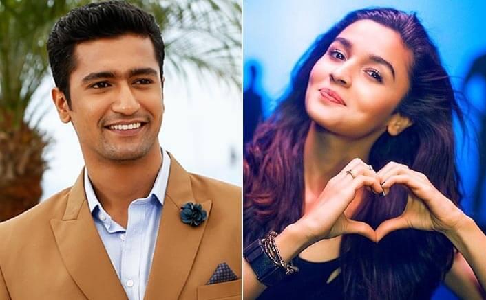 Vicky Kaushal and Alia Bhatt