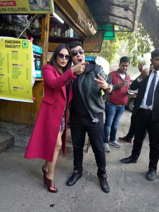 Fukrey Returns team turn Fukra's on Delhi streets