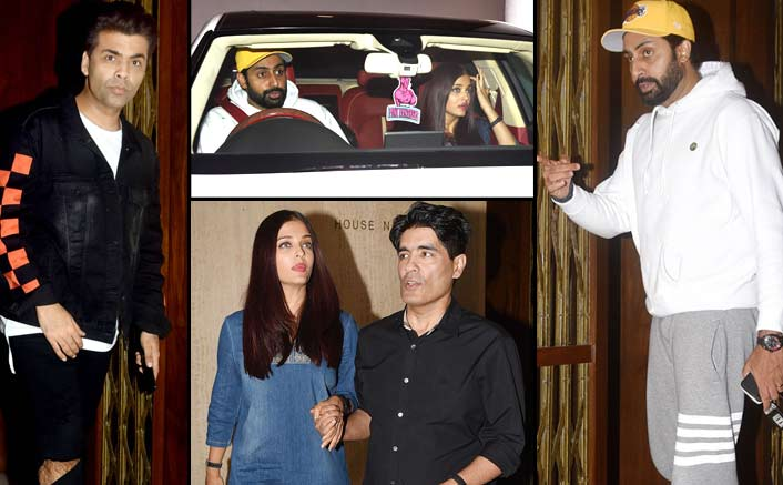 Abhishek Bachchan Gets Furious At Photographers For Clicking Aishwarya's 'Inappropriate' Pics