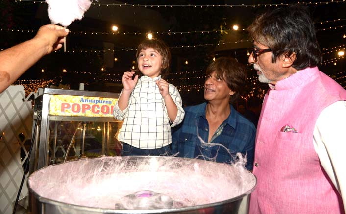 When Abram Thought Amitabh Bachchan Was Shah Rukh Khan's Father
