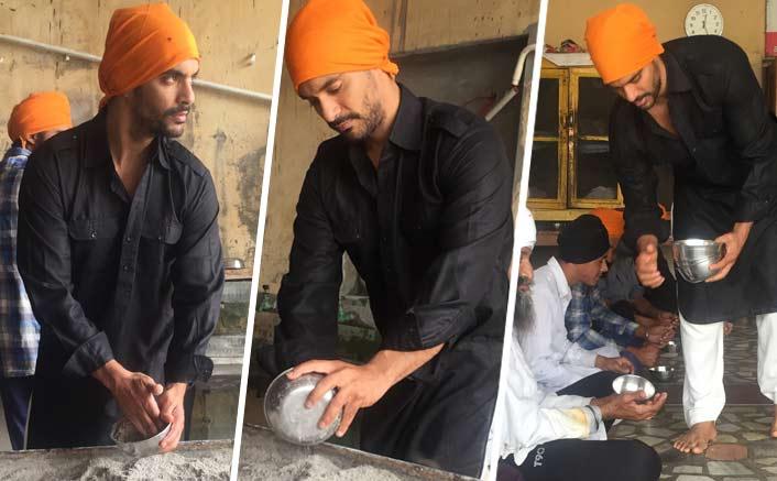 Angad Bedi's special Punjabi celebration