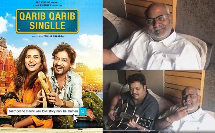Baahubali composer sings the unplugged version of Qarib Qarib Singlle's 'Jaande De'