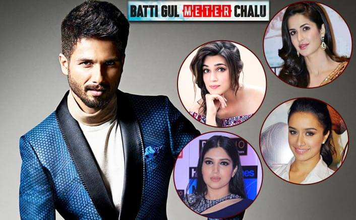 Batti Gul Meter Chalu: Which Of These 4 Actresses Would Make A Great Pair With Shahid Kapoor?