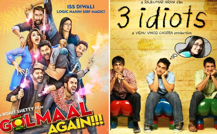 Box Office - Ajay Devgn's Golmaal Again now crosses Aamir Khan's 3 Idiots