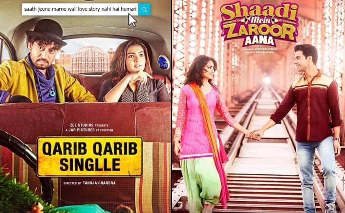 Box Office Predictions - Qarib Qarib Singlle and Shaadi Mein Zaroor Aana