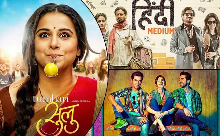 Box Office - Tumhari Sulu collects better than Hindi Medium and Bareilly Ki Barfi