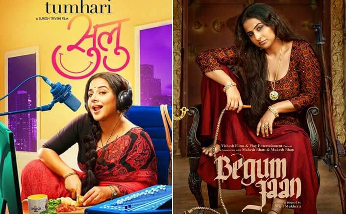 Box Office - Vidya Balan's Tumhari Sulu goes past entire first week of her Begum Jaan in six days