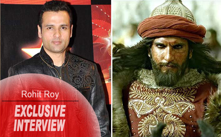 Exclusive! Rohit Roy On Padmavati Row: I Think It Is Absolutely Stupid