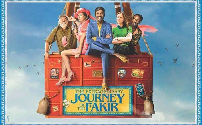 The First Poster Of The Extraordinary Journey Of The Fakir Is Very Colourful