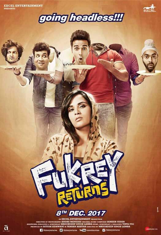 Poster Alert! Fukrey Returns Shifts Back To Its Original Release Date