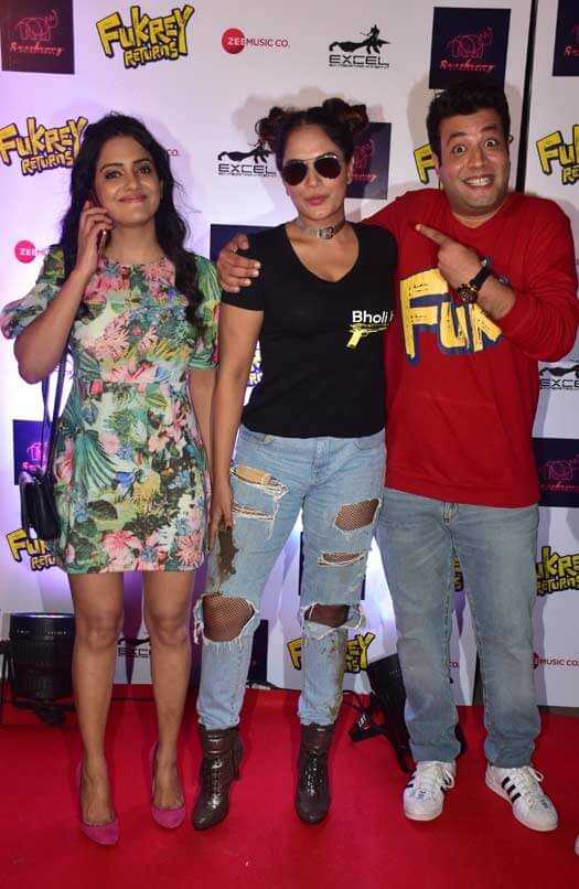 Fukrey Returns song launch event was a celebration in Fukra style