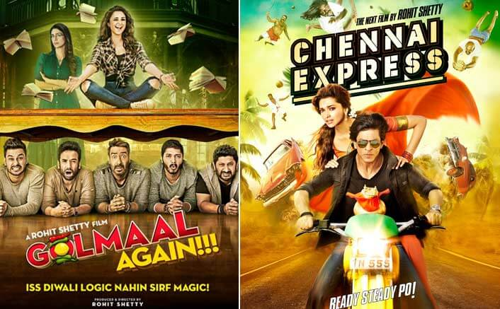 Golmaal Again Or Chennai Express: Which Film Will Be Rohit Shetty's Highest Grosser?
