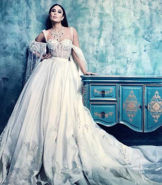 Hot AF! Kareena Kapoor Khan Looks Every Bit Of 'Fit' & 'Fab' On Harper's Bazaar Bride Cover