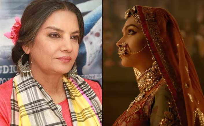 It's hyper nationalism: Shabana Azmi on 'Padmavati' row