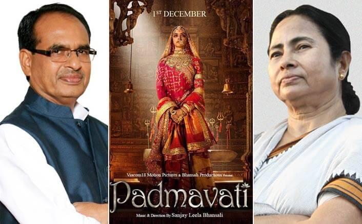 Padmavati Row: While The Movie Gets Banned In Madhya Pradesh, Mamata Banerjee Labels It Unfortunate