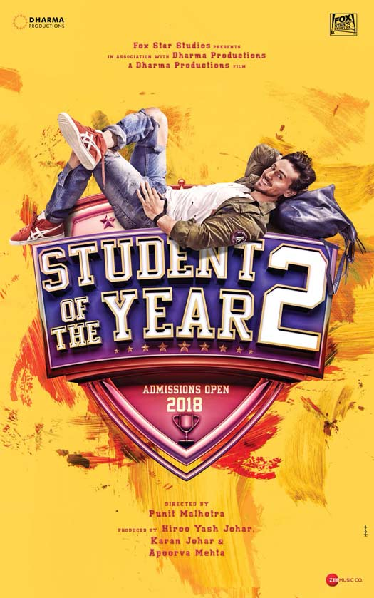 POSTER! Karan Johar Is Back With A New Student In Student Of The Year 2
