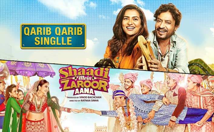 Qarib Qarib Singlle And Shaadi Mein Zaroor Aana Box Office