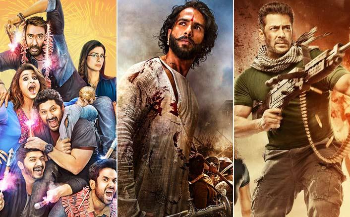 Rohit Shetty's Golmaal Again, Sanjay Leela Bhansali's Padmavati and Ali Abbas Zafar's Tiger Zinda Hai expected to bring in over 600 crore
