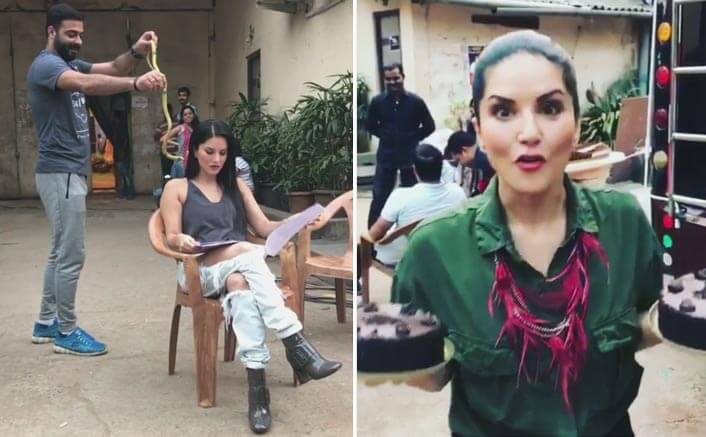 Sunny Leone's Team Member Threw A Snake At Her & Her Revenge Is Just On Point!