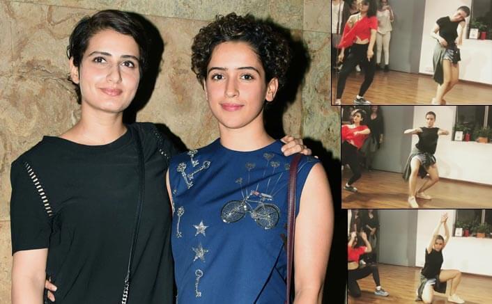 Video Alert! Sanya Malhotra & Fatima Sana Shaikh Show Off Their Sexy Dance Moves