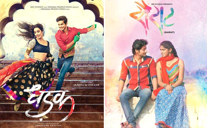 VOTE NOW: Sairat Or Dhadak - Which Film Had A Better Poster?