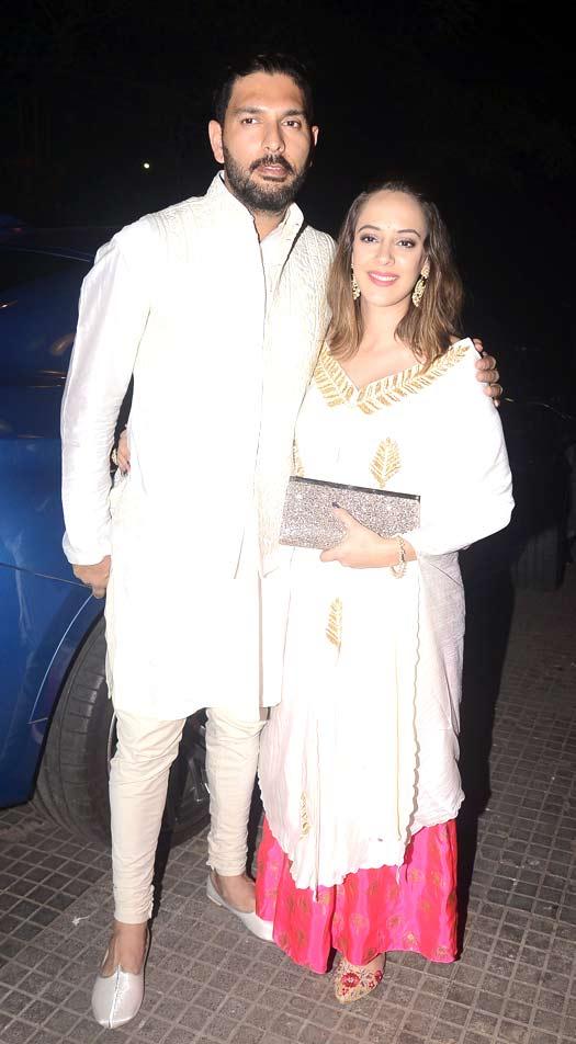 Zaheer Khan And Sagrika Ghagte's Mehendi Ceremony Was A Glitzy Affair