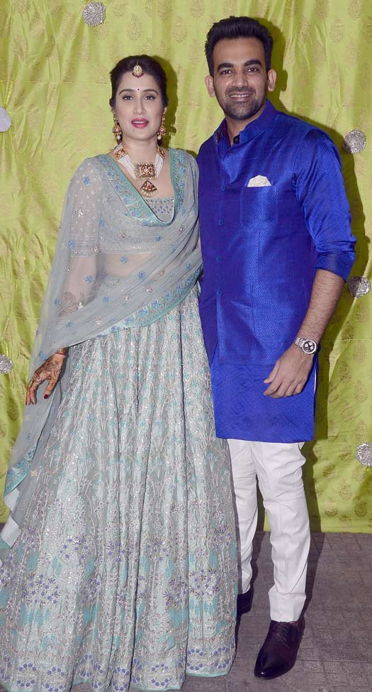 Zaheer Khan And Sagrika Ghagte's Mehendi Ceremony Was A Glitzy Affair