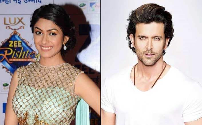 TV actress Mrunal Thakur To Star Opposite Hrihtik Roshan In Super 30!
