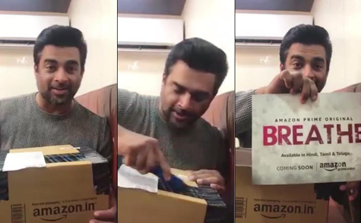 Amazon surprises Madhavan with a special delivery! Watch what happened