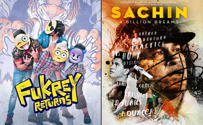 Box Office - Fukrey Returns aims for Sachin - A Billion Dreams lifetime in one week flat