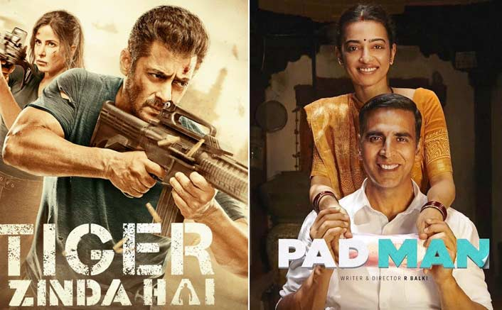 Box Office - Salman Khan's Tiger Zinda Hai set for a superb run for one more month till Akshay Kumar's PadMan arrives