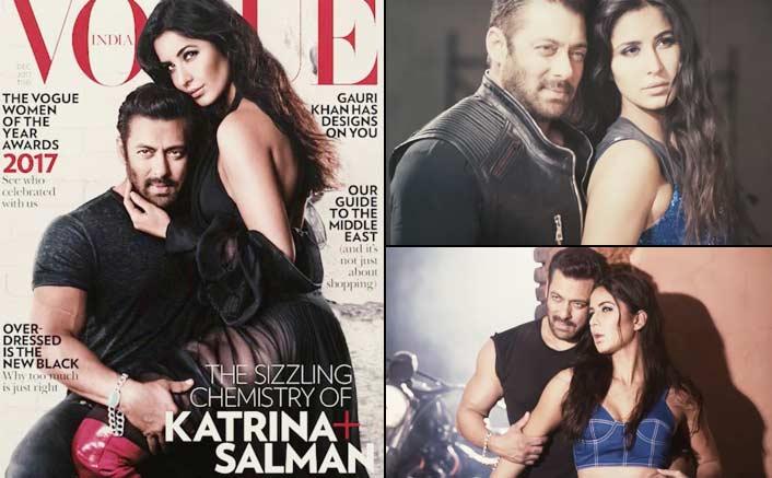 Too Hot To Handle! Salman Khan & Katrina Kaif Are LITERALLY Slaying On This Vogue Cover
