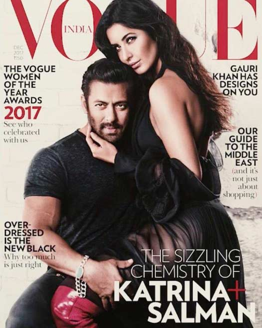 Salman Khan & Katrina Kaif Are LITERALLY Slaying On This Vogue Cover