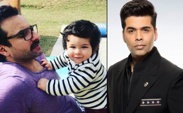 Karan Johar's Adorable Message For Taimur On First Birthday