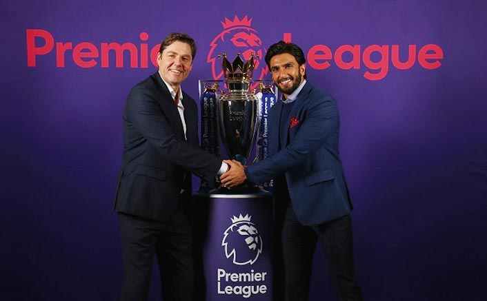 Ranveer Singh Turns Brand Ambassador For English Premiere League In India