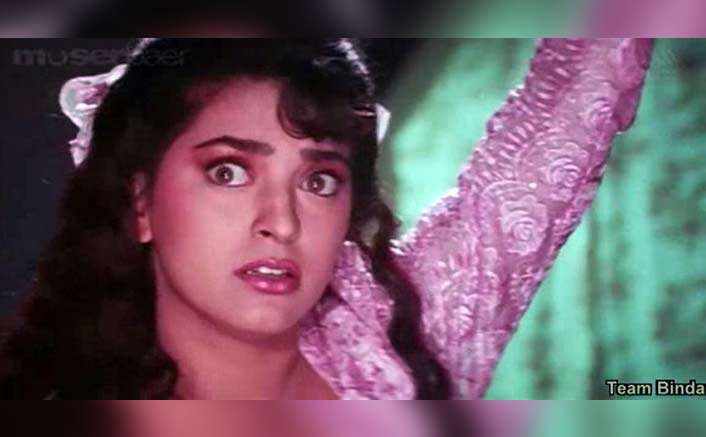 Juhi Chawla as Vyjayanti from Hum Hai Rahe Pyar Ke