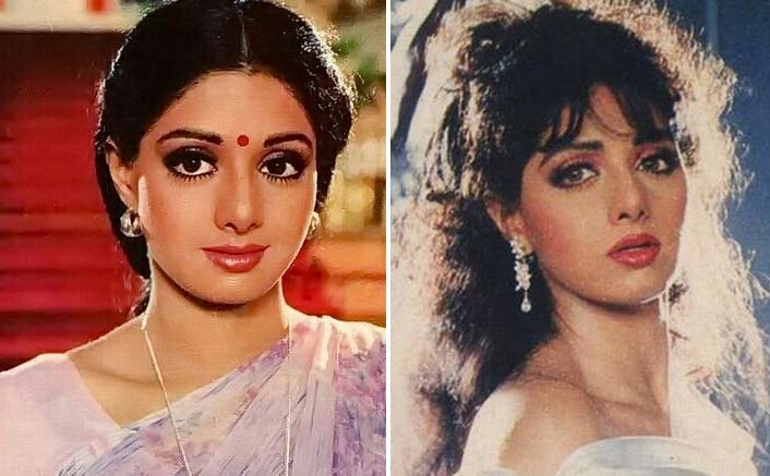 Sridevi as Manju from Chaalbaaz