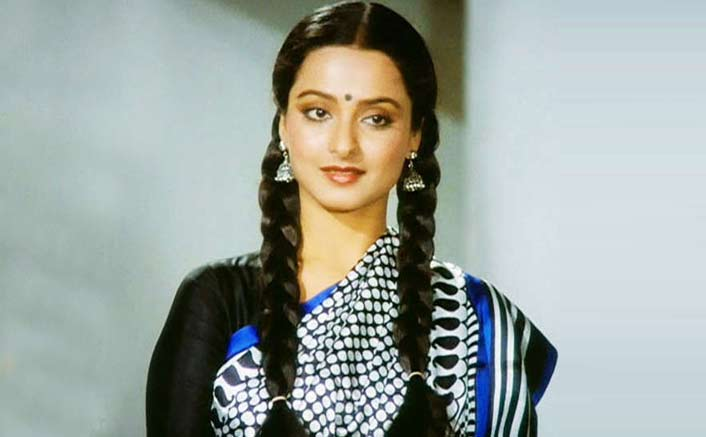 Rekha as Manju from Khubsoorat