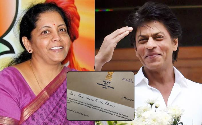 Shah Rukh Khan's Special Support; Gets Praised By Defence Minister Nirmala Sitharaman