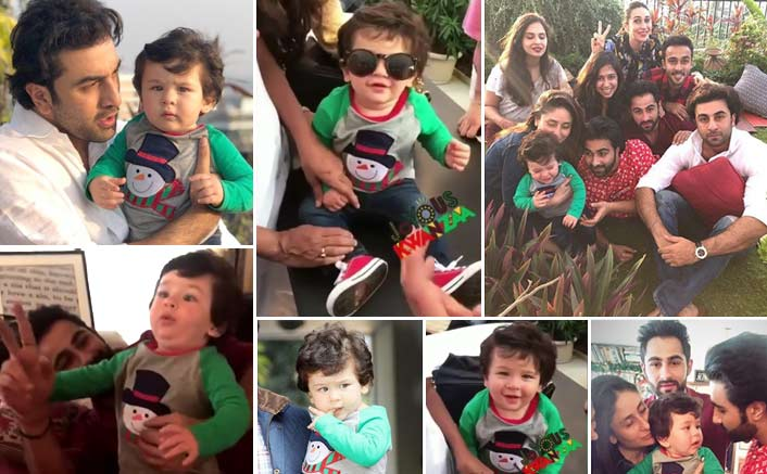 Taimur Ali Khan's Day Out With Uncle Ranbir Kapoor, See Videos & Pictures