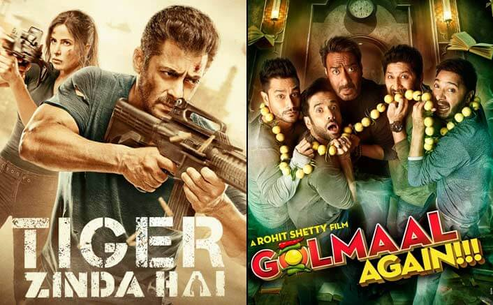 Tiger Zinda Hai Is Out To Demolish The Box-Office: Crosses Golmaal Again In The Highest Grossing Movies Of 2017