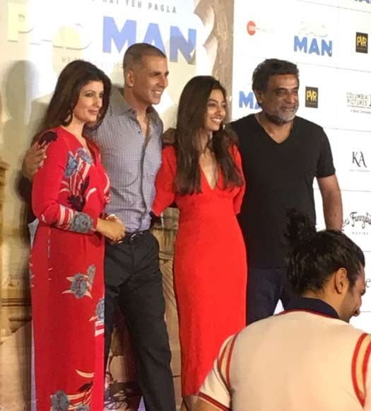 Twinkle Khanna: Akshay Kumar Was Not The First Choice For Padman