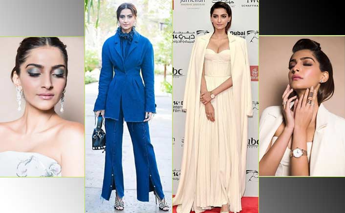 Yet Again, Sonam Kapoor Slays The Dubai International Film Festival'17 Red Carpet With Her Elegant Looks!