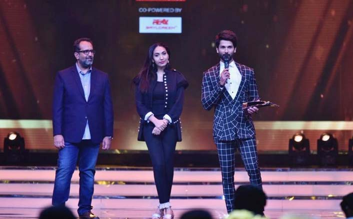 Anand L Rai and Prerna Arora honoured Shahid Kapoor