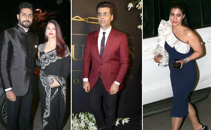 Aishwarya Rai Bachchan, Karan Johar, Kajol & More Attend Mickey Contractor's Party
