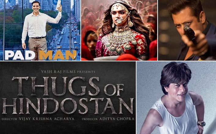 From Akshay Kumar's Padman To Shah Rukh Khan's Zero, Films To Look Forward In 2018
