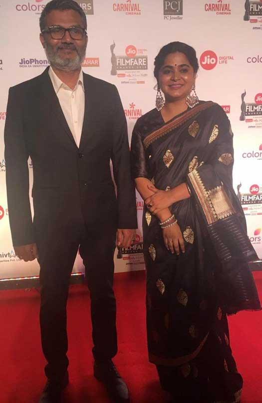 Nitish Tiwari and Ashwini Iyar Tiwari