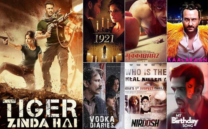 Box Office - Tiger Zinda Hai, 1921, Mukkabaaz, Kaalakandi, Vodka Diaries, Nirdosh, My Birthday Song updates