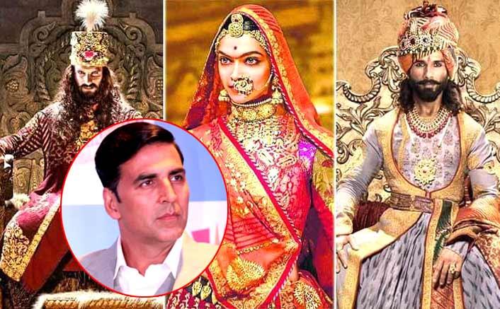 Cast of 'Padmaavat' thanks Akshay Kumar
